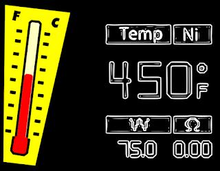 sigaretta elettronica controllo della temperatura