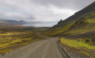 Carretera 570, Península de Snaefellsnes (Snæfellsnes). Islandia, Iceland.