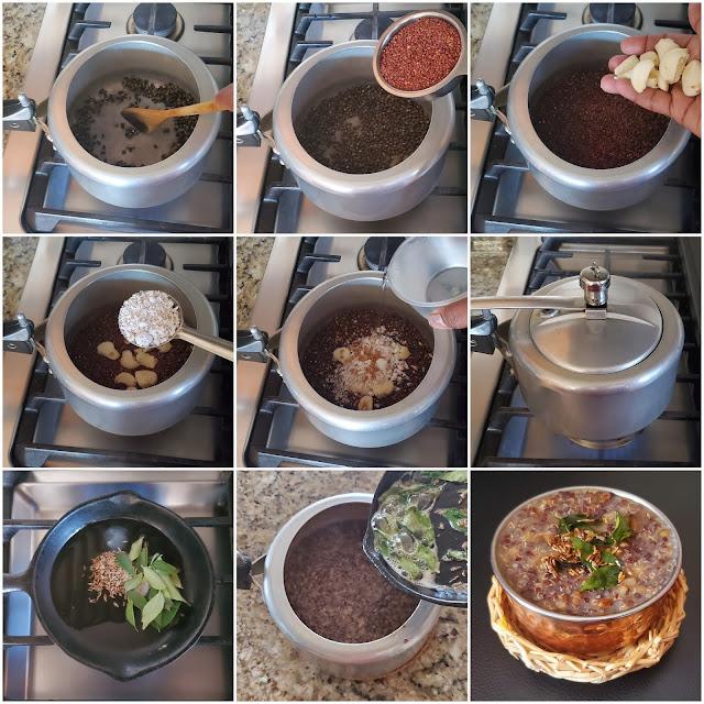 images of Quinoa Urad Dal Kanji / Quinoa Ulundhu Kanji / Quinoa Kanji