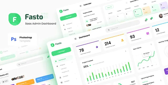 Best Saas Admin Dashboard UI Design Template