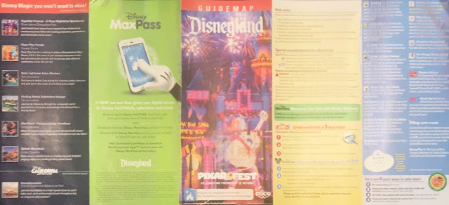 Disneyland Map Pixar Fest Summer 2018 Scanned