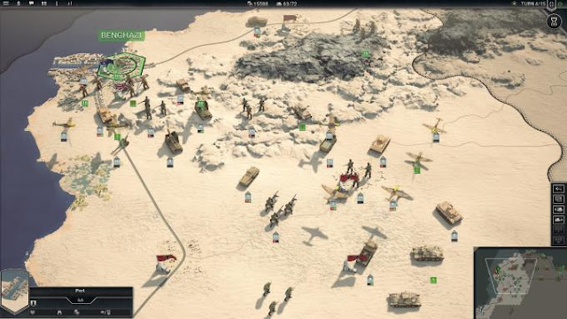 Panzer Corps 2 is a global strategy whose plot is located during the Second World War.