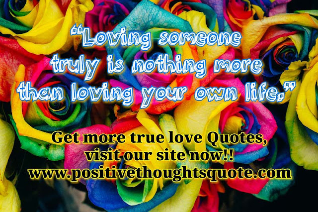 Quote on true love, with images