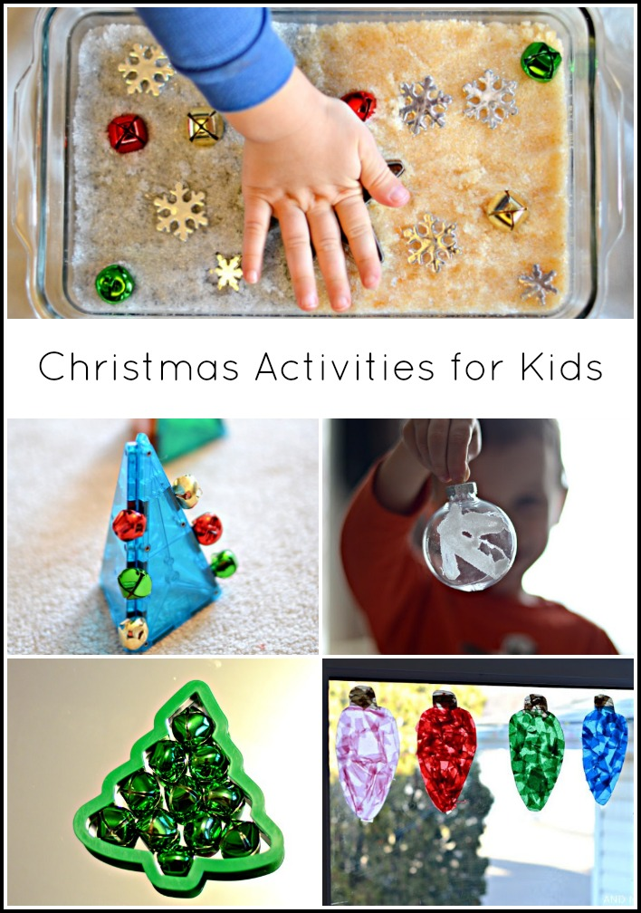 Christmas Activities Crafts And Sensory Ideas For Kids From Next Comes L