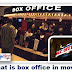 What is box office in movies