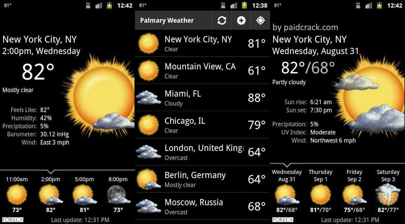 Palmary Weather Mod Apk
