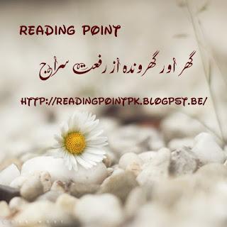 Ghar aur gharaonda by Riffat Siraj Online Reading