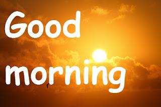 good morning natural image
