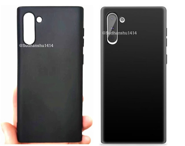Samsung Galaxy Note 10 Alleged Cases