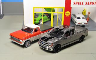 GreenLight Ford trucks