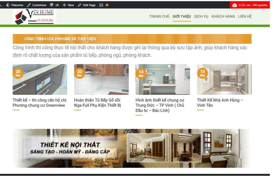 Theme công ty dung theme Flatsome vinhomngean.com