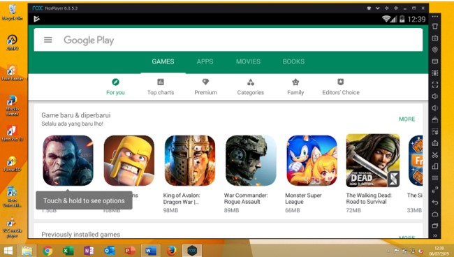 Cara Download dan Instal Game Android di PC atau Komputer
