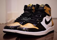Air Jordan 1 (Black and Gold)