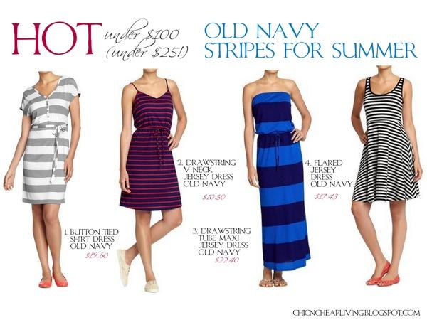 3d5f875648c6b Hot under {$100-under $25}/Sale Spotlight – Stripes for summer via Old Navy