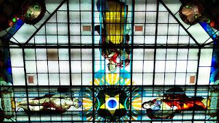 Vitral Comércio e Justiça - Santander Cultural, Porto Alegre