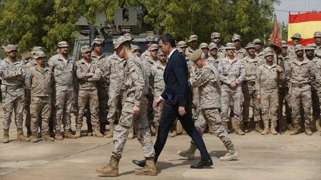 Gobierno español autoriza al Ejército reforzarse con 7000 militares