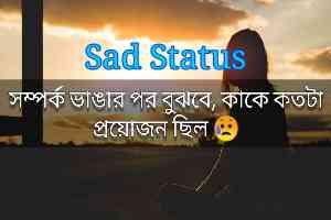 Bangla Sad Status in 2022   Very Sad Bangali Love Status   Top 10