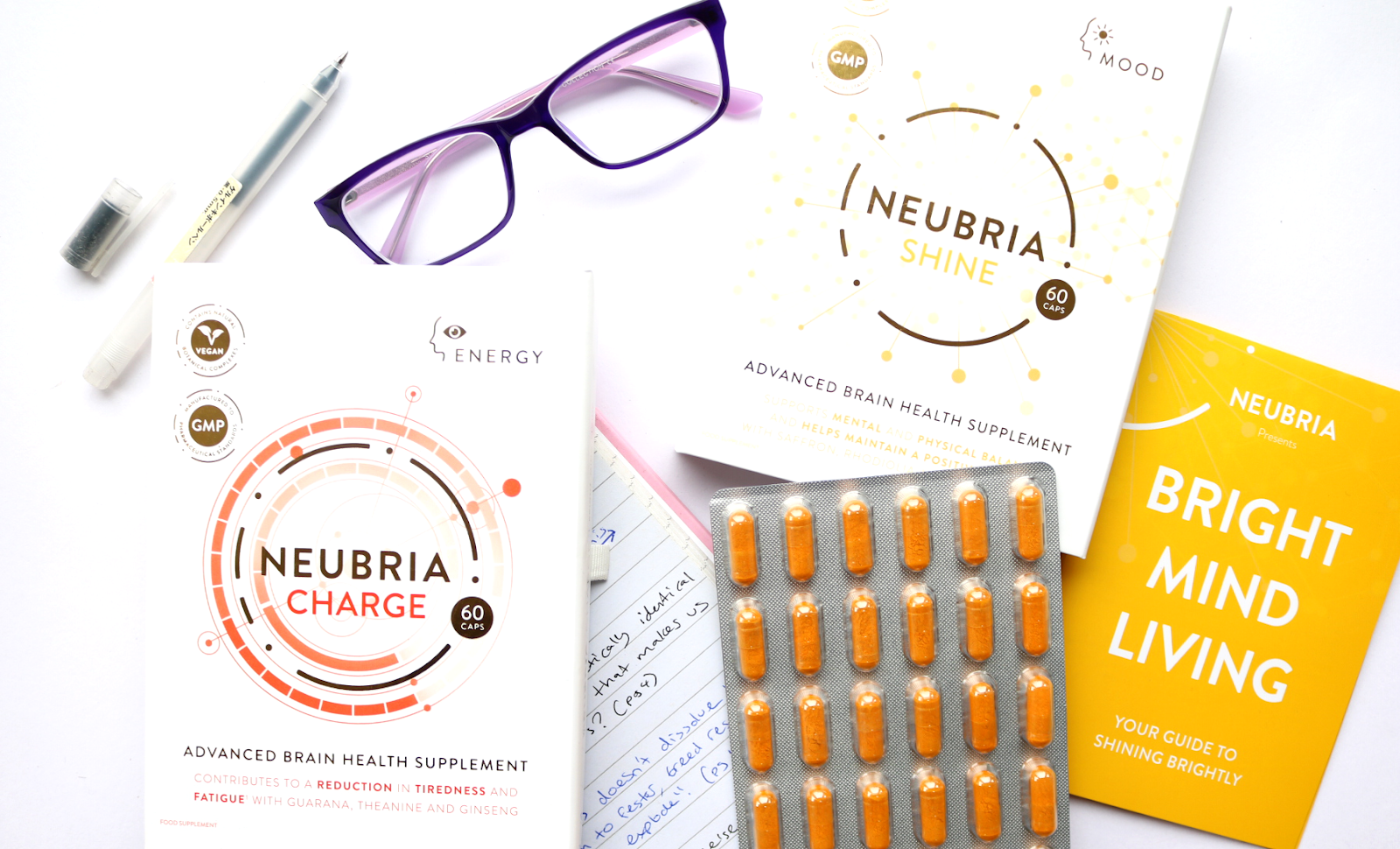 Neubria Charge and Shine Advanced Brain Health Supplements review