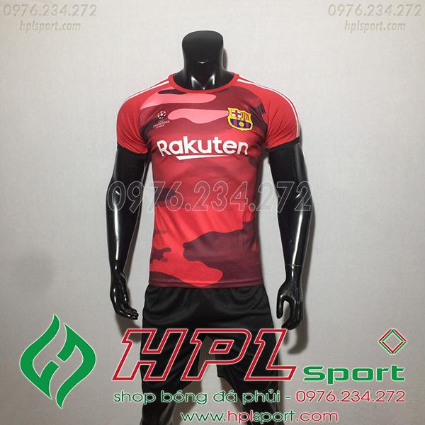 Áo CLB Barcelona training màu đỏ  2020