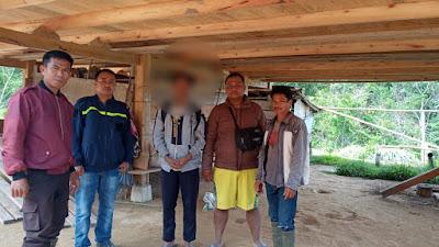 Setubuhi Anak Kandung, MK Diamankan Polsek Rindingallo, Toraja Utara