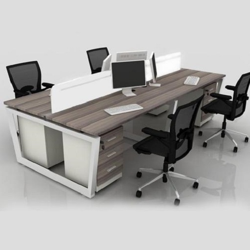 wood office table chairs