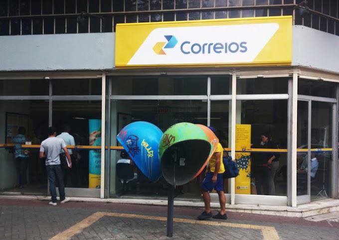 CORREIOS: Documentos perdidos podem ser deixados em agências dos Correios.