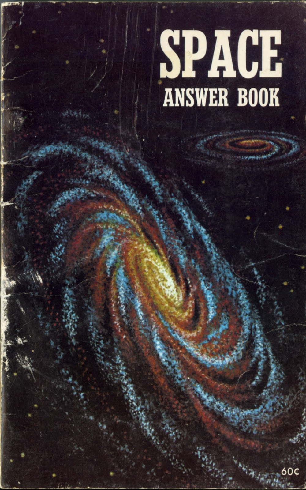 Dreams of Space - Books and Ephemera: Space Answer Book (1972)