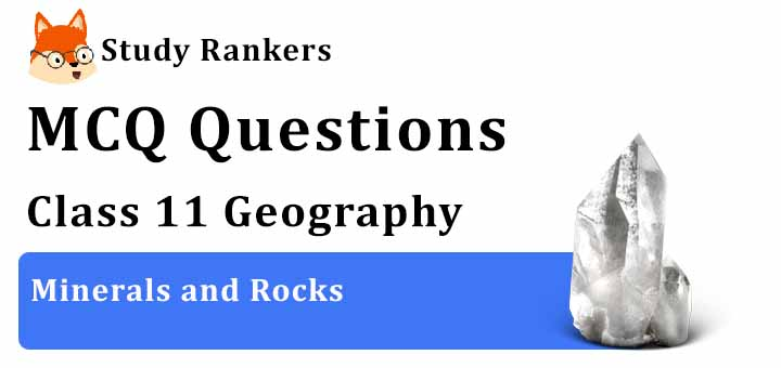 MCQ Questions for Class 11 Geography: Ch 5 Minerals and Rocks