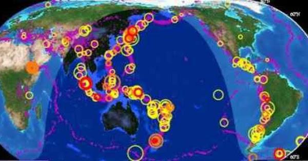 ALERTAS: 2 sismos fuertes han sacudido el planeta.