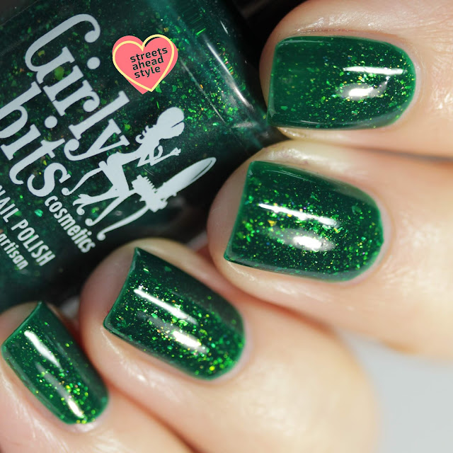 Girly Bits All I Want Fir Christmas is You swatch by Streets Ahead Style