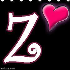 صور حروف خلفيات رومانسية مكتوب عليها حرف Z