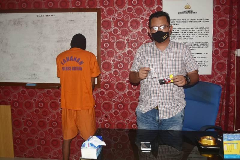Narkotika Jenis Sabu Kembali Diungkap Oleh Sat Resnarkoba Polres Bintan