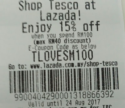 Tesco Malaysia Lazada Voucher Code Discount Offer Promo