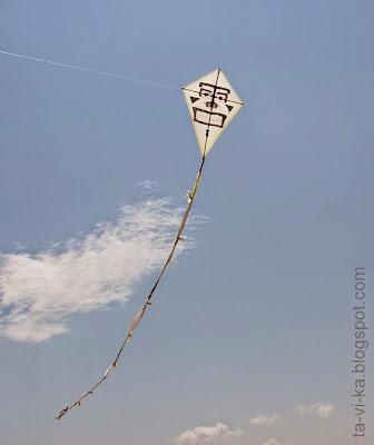 самодельный воздушный змей