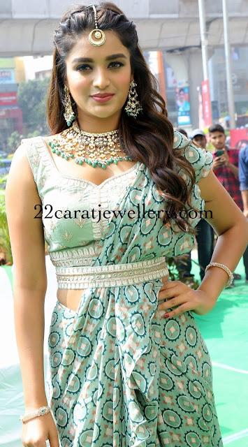 Nidhhi Agerwal in Pearls Haram