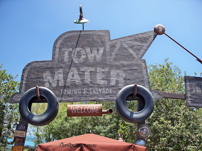 Mater's Junkyard Jamboree - Cars Land at Disney California Adventure Park