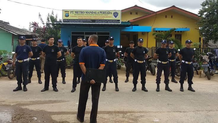 PT Metro Mandala Persada Membuka Lowongan Security Perbankan di Kudus