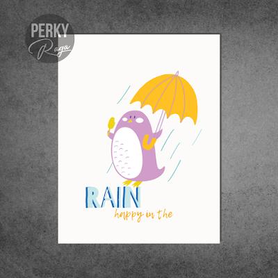 Rain cas card