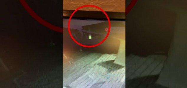 ANOMALIA SEMELHANTE A FANTASMA CAPTURADA EM CCTV DE PUB