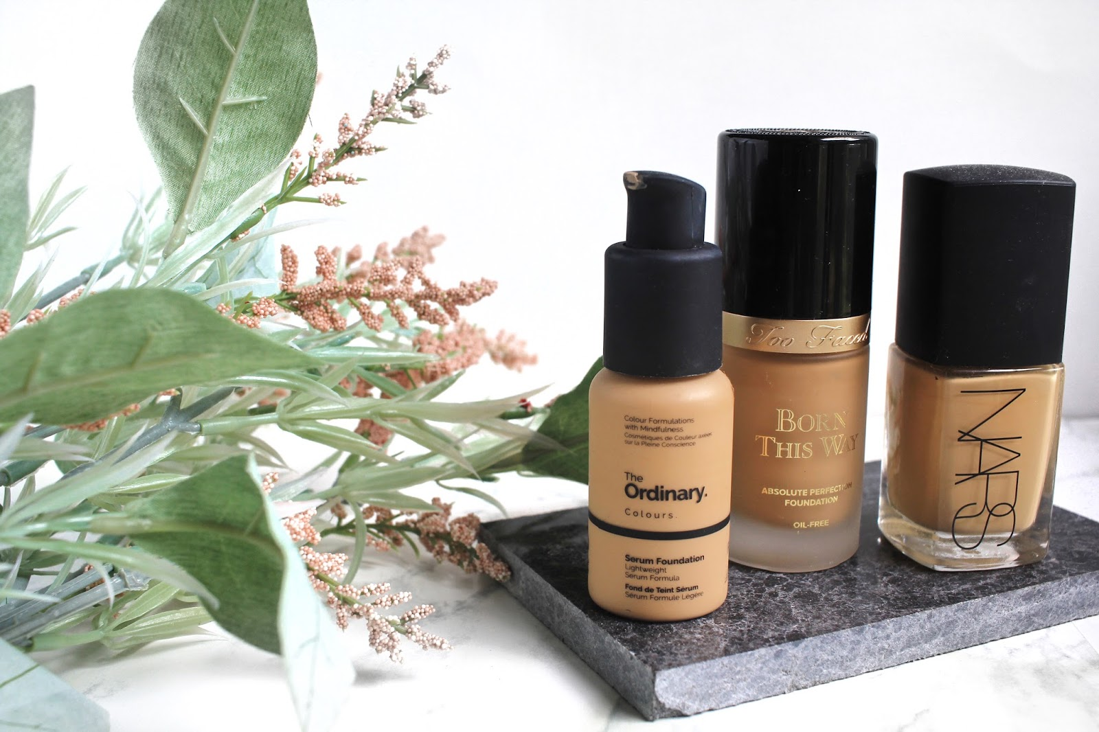 Transitional Foundation Picks   Autumn Edit ft. The Ordinary, Too Faced, Nars