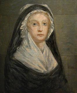 Maria Antonieta na prisão Temple, 1793