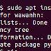 "Mengatasi error ""Unable to locate package"" saat install Package dengan APT"