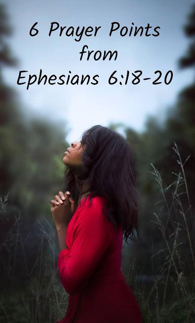 Prayer - Ephesians Series