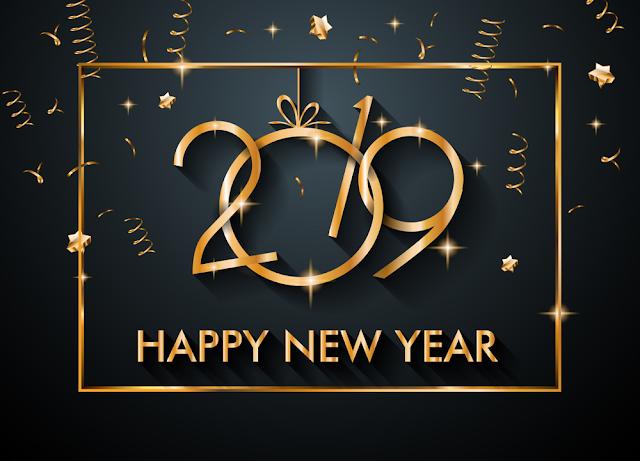 """أجمل رسائل تهنئة رأس السنة الميلادية الجديدة 2019 Happy New Year""""مكتوبة"""" للأحباب رسائل راس السنة 2019 جديدة"""