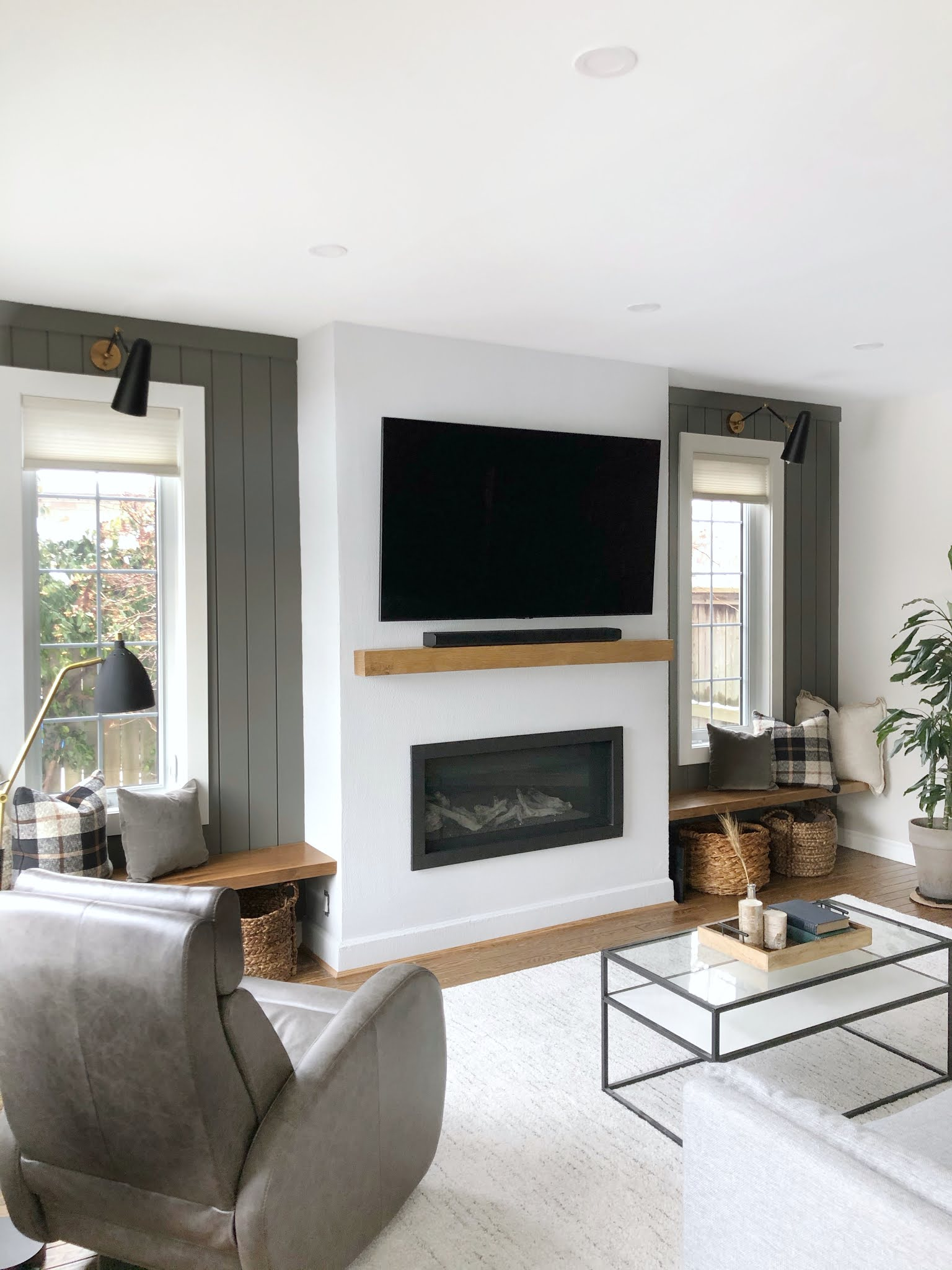 Carriage Hill Project Reveal - living room
