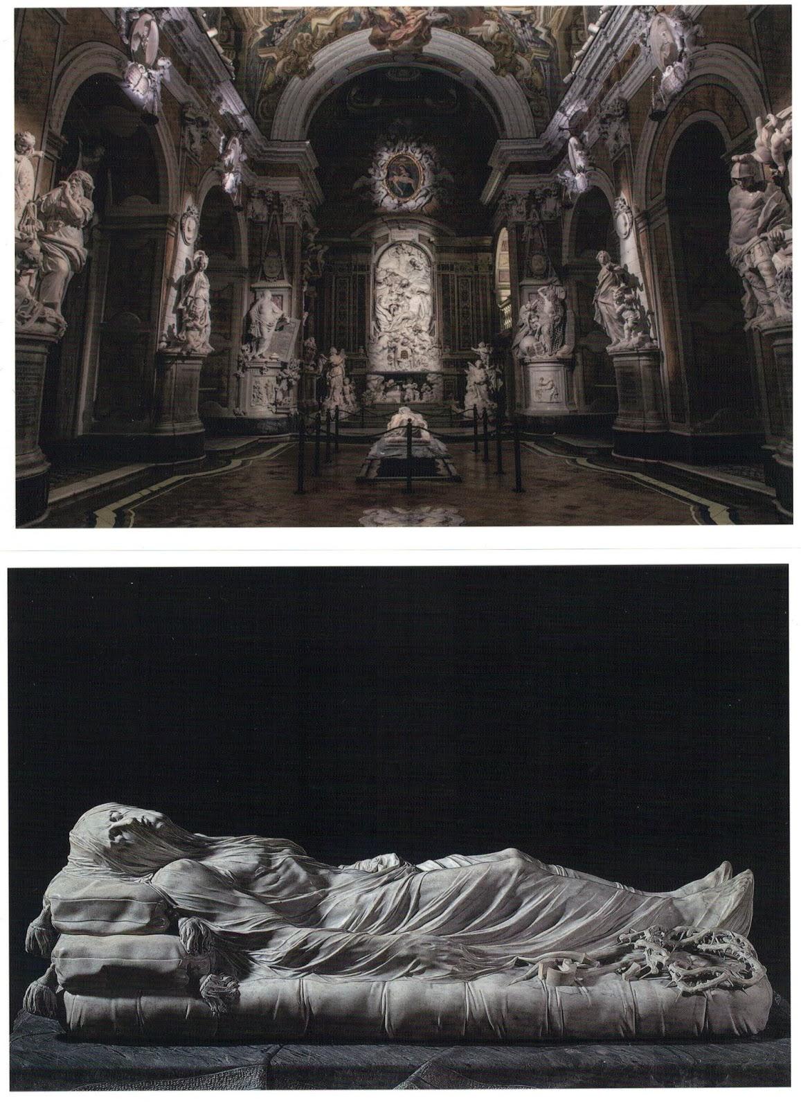 Raimondo di Sangro, principe di Sansevero con la Cappella Sansevero, Cristo Velato