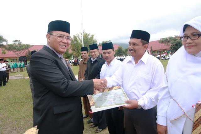 Hari HAB di Aceh Tengah Bagi-Bagi Hadiah dan Penghargaan