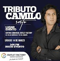 TRIBUTO CAMILO SESTO en Bogota