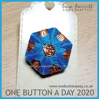 One Button a Day 2020 by Gina Barrett - Day 27: Gateway