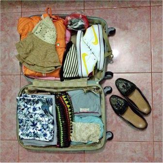 mengemas pakaian untuk dibawa selama traveling dapat menjadi sebuah dilema yang luar bias Tips Agar Selalu Tampak Modis Selama Liburan